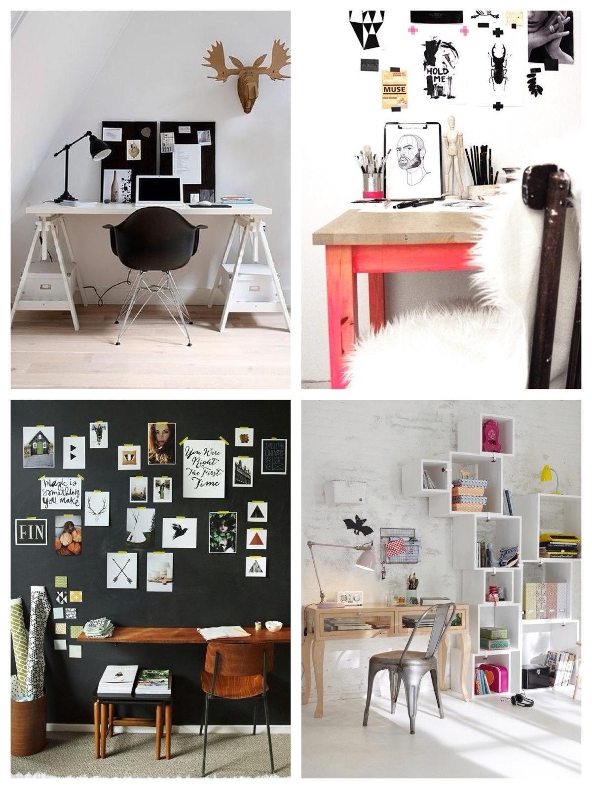 12 x inspiratie voor je werkkamer | Daily DecorDaily Decor: www.dailydecor.nl/2013/10/thuiskantoor
